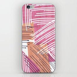 Big Sketch Collage iPhone Skin