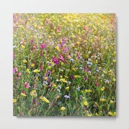 Wildflowering LA II Metal Print