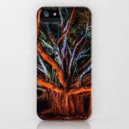Night of the banyan iPhone Case