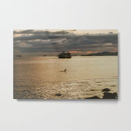 At The Right Time Metal Print