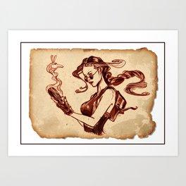Tomb Raider Challenge Art Print