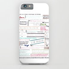 Thoughts of the Day iPhone 6s Slim Case