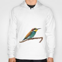 soul eater Hoodies featuring Bee Eater by Cs025