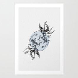 Cosmic Dancer Art Print