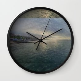 Cromer Sea Fret Wall Clock
