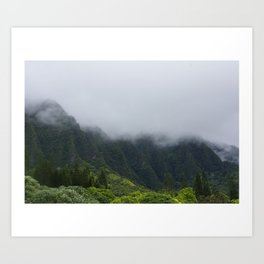 HEAVENLY MOUNTS Art Print