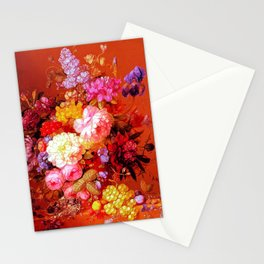 Passion Fruits and Flowers Stationery Cards