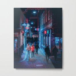 Amsterdam Nightlife Metal Print