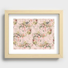 Pardon Me There's a Bunny in Your Tea Recessed Framed Print