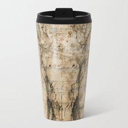 Skulled Oddity Closeup Travel Mug