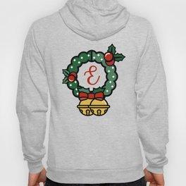 'E' Monogram Wreath Hoody