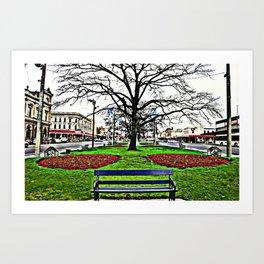 City of Ballarat - Australia. Art Print