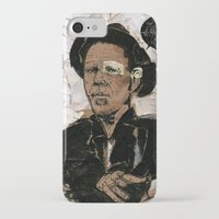 tom waits iPhone & iPod Cases featuring Tom Waits? by Andy Christofi