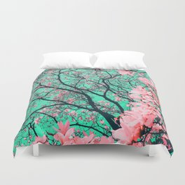The tree from another dimension Duvet Cover