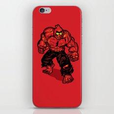 Angry Bird hulk Red iPhone & iPod Skin