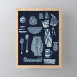 Dinnerware for Evening, 1958 Framed Mini Art Print