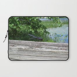 Blue Dragonfly Laptop Sleeve
