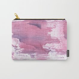 Plum abstract Carry-All Pouch