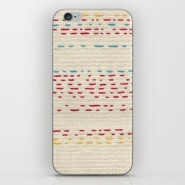 Yarns - Between the lines iPhone Skin
