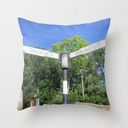 Take the road most traveled Throw Pillow