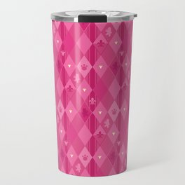 Pink Lily Bears Travel Mug