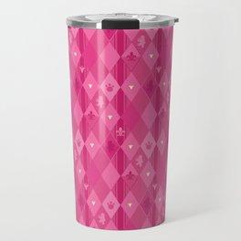 Pink Lily Bears Travel Mug