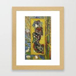 Japonaiserie by Vincent van Gogh Framed Art Print
