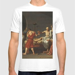 Death of Socrates by Jacques-Louis David T-shirt