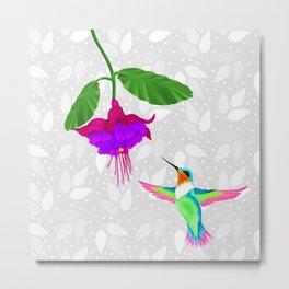 Fantasy Hummingbird #3 Metal Print