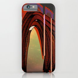Entrance To The Unknown / Elephant 2 iPhone Case