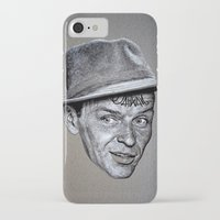 frank sinatra iPhone & iPod Cases featuring FRANK SINATRA by Jahwan by JAHWAN