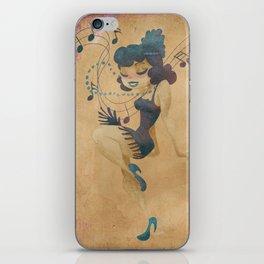 charleston dancer iPhone Skin