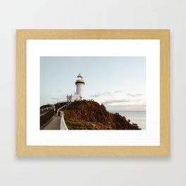 Byron Bay Lighthouse Framed Art Print
