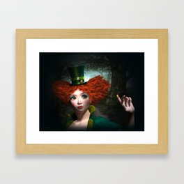 Madam Hatmaker Framed Art Print