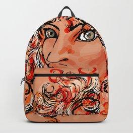 Female elf profile 1d Backpack
