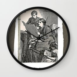 Let's Read Wall Clock