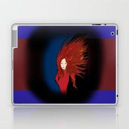Fire Woman Laptop & iPad Skin