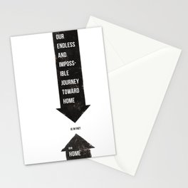 Endless Journey Home Stationery Cards
