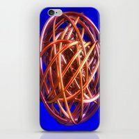 the wire iPhone & iPod Skins featuring Wire Ball by Brian Raggatt