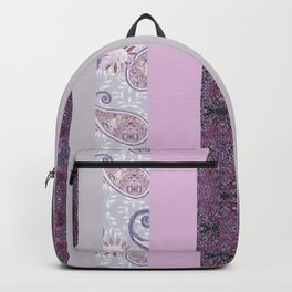 zakiaz French Stripe Lavender Backpack