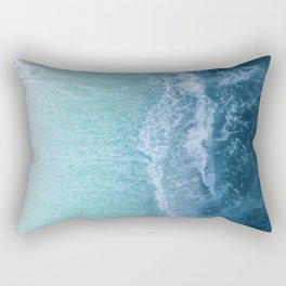 Turquoise Sea Rectangular Pillow