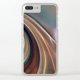 creation #3 Clear iPhone Case