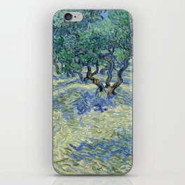 Olive Orchard by Vincent van Gogh iPhone Skin