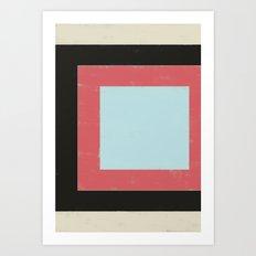 HERE XI Art Print