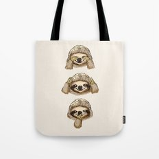 No Evil Sloth Tote Bag