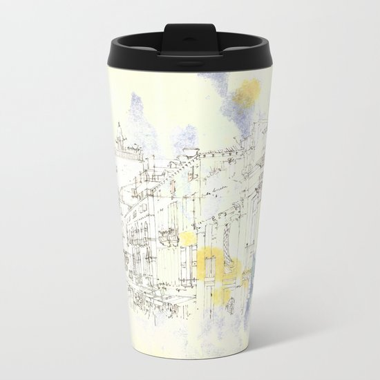 Nothing,my dear, endures Metal Travel Mug