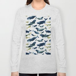 Dreams of whales Long Sleeve T-shirt