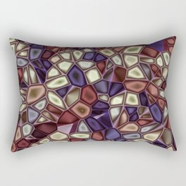 Fractal Gems 01 - Fall Vibrant Rectangular Pillow