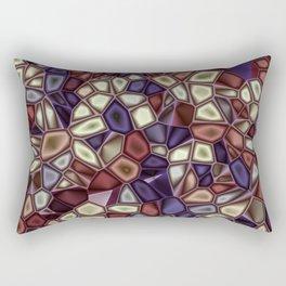 Fractal Gems 01 - Fall Vibrant Rectangular Pillow