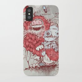 Dr Jekyll iPhone Case